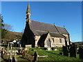 SO5204 : St. Oudoceus church, Llandogo by Ruth Sharville