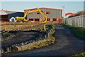 NZ2045 : Roadways at 'Diggerland' by Trevor Littlewood