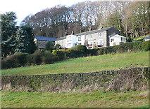 SE0721 : Houses at Scar Bottom, Greetland by Humphrey Bolton