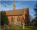 SU8363 : St John's Church, Crowthorne by Alan Hunt