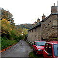 ST7693 : Five Bearpacker almshouses, Wotton-under-Edge by Jaggery