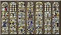 TF2157 : East window, Holy Trinity church, Tattershall by J.Hannan-Briggs