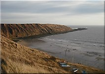 TA1281 : Carr Naze from Filey Country Park by Christopher Hall