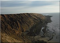 TA1281 : Looking along Carr Naze by Christopher Hall