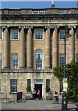 ST7465 : Detail of 16 Royal Crescent, Bath by Stephen Richards
