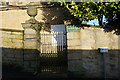 SK2168 : Bagshaw Hall, boundary wall, gate piers and gate by Peter Barr