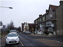 TQ7668 : Marlborough Road, Gillingham by Chris Whippet
