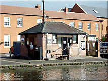 SO8171 : Canal services at Stourport  Basins, Worcestershire by Roger  Kidd