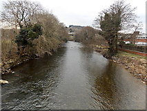 SS8983 : Ogmore River, Aberkenfig by Jaggery