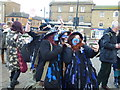 TL2797 : Girls of Bakanalia Border Morris - Whittlesea Straw Bear Festival 2014 by Richard Humphrey
