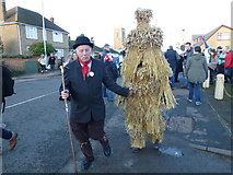 TL2696 : Leading the bear to The Boat - Whittlesea Straw Bear Festival 2014 by Richard Humphrey