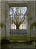 ST7565 : A tree through a gate by Neil Owen