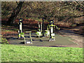 TQ4376 : Outdoor Gym, Oxleas Woods by Stephen Craven