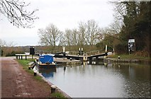 SP1876 : Knowle Top Lock (No. 51), Grand Union Canal, Knowle near Solihull by P L Chadwick