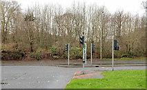 J3368 : Former Belvoir Hospital site, Belfast (3) by Albert Bridge
