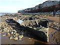 TF6741 : The wreck of The Sheraton on Hunstanton Beach by Richard Humphrey