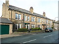 SE0920 : Terrace houses, Stainland Road, Greetland by Humphrey Bolton