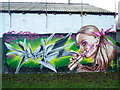 SE0921 : Graffiti art, Greetland by Humphrey Bolton
