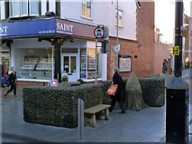 SK5236 : Sculpture on High Road, Beeston by Alan Murray-Rust
