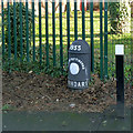 SK5337 : City of Nottingham boundary post by Alan Murray-Rust
