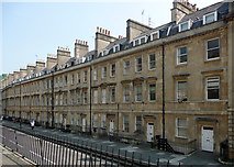 ST7565 : Axford Buildings, Roman Road, Bath by Stephen Richards