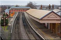 SP1955 : Stratford-upon-Avon Railway Station by David P Howard
