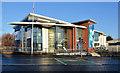 J3170 : The Kingsbridge Private Hospital, Belfast by Albert Bridge