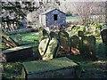 SO2531 : Graveyard of Capel-y-ffin Baptist chapel by Peter Evans