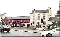 J1246 : The Coach Inn and Avonmore House in Church Square, Banbridge by Eric Jones
