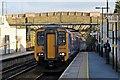 SJ5192 : Northern Rail Class 156, 156428, Lea Green railway station by El Pollock