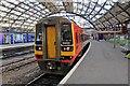 SJ3590 : East Midlands Trains Class 158, 158813, Liverpool Lime Street railway station by El Pollock