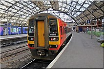 SJ3590 : East Midlands Trains Class 158, 158813, Liverpool Lime Street railway station by El Pollock
