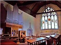 TQ5203 : Church Organ, Alfriston by Len Williams