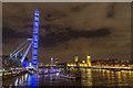 TQ3079 : London Eye, London, SE1 by Christine Matthews