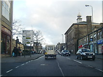 SK0394 : A57 High Street West, Glossop by Colin Pyle