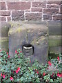 SJ4069 : The plague stone, Holy Ascension Church, Upton by Chester by John S Turner