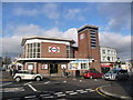 TQ2991 : Bounds Green: the underground station by Chris Downer