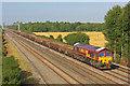 SU3790 : Freight Train at Denchworth by Wayland Smith