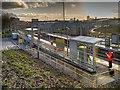 SD8500 : Queens Road Metrolink Stop, Cheetham Hill by David Dixon