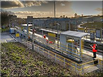 SD8500 : Queens Road Metrolink Stop, Cheetham Hill by David Dixon