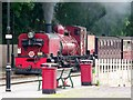 SH4758 : Locomotive No.138 arrives at Dinas by nick macneill