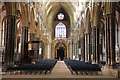 SK9771 : St.Mary's Cathedral nave by Richard Croft