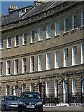 ST7465 : Detail of Lansdown Crescent, Bath by Stephen Richards