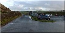 SW5842 : National Trust car park, Godrevy Towans by David Smith