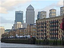 TQ3580 : Globe Wharf, Rotherhithe by Oliver Dixon