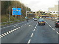 SK4736 : M1 northbound towards junction 26 by Ian S