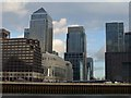 TQ3780 : Canary Wharf by Oliver Dixon