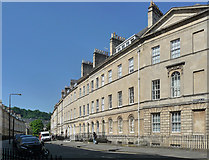 ST7565 : 28-35 Henrietta Street, Bath by Stephen Richards