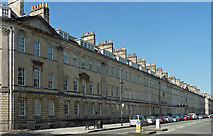 ST7565 : 7-20 Great Pulteney Street, Bath by Stephen Richards