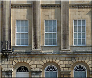 ST7565 : Detail of 60 Great Pulteney Street, Bath by Stephen Richards